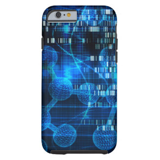Genetic Science Research as a Medical Abstract Art Tough iPhone 6 Case