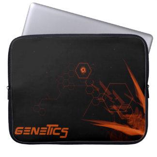 Genetics amazing science laptop sleeves