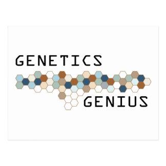 Genetics Genius Postcard