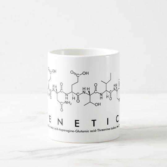 Genetics peptide name mug