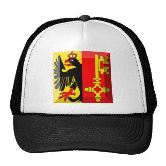 Geneva Flag Gem Mesh Hat