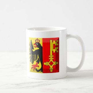 Geneva Flag Gem Coffee Mugs