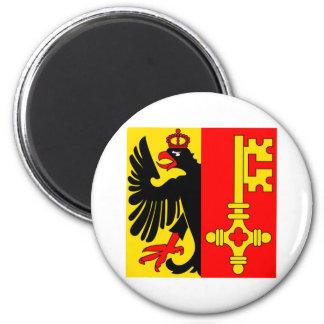 Geneva Flag Magnet