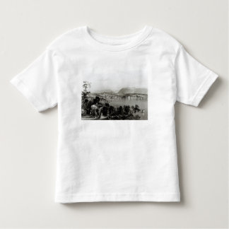 Geneva from Coligny, engraved by Robert Wallis Toddler T-Shirt