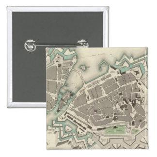 Geneva Geneva 15 Cm Square Badge