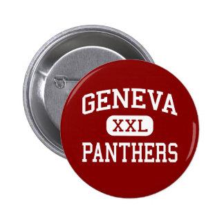 Geneva - Panthers - High School - Geneva New York 6 Cm Round Badge