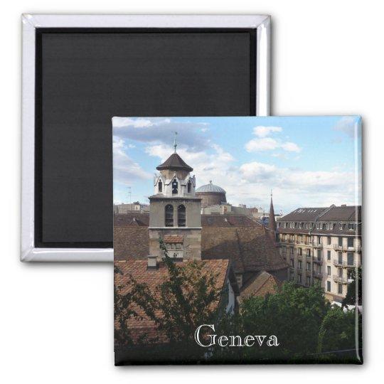 geneva swiss square magnet