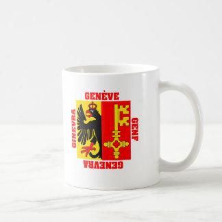 Geneva Switzerland Canton Flag Coffee Mug