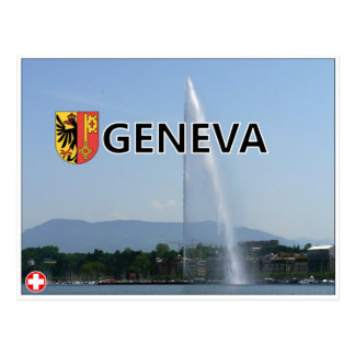 Geneva - Switzerland Postcard