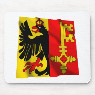 Geneva Waving Flag Mouse Mat