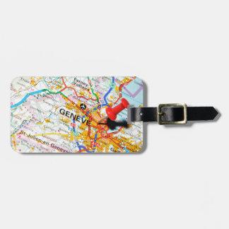 Geneve, Geneva, Switzerland Luggage Tag