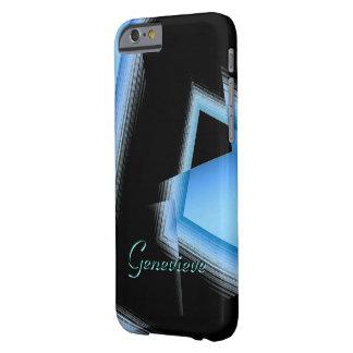 Genevieve Black Blue iPhone 6 case