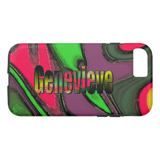 Genevieve Colored Style iPhone cover