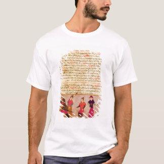 Genghis Khan and his sons by Rashid al-Din T-Shirt