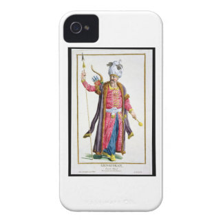 Genghis Khan (c.1162-1227) from 'Receuil des Estam iPhone 4 Case