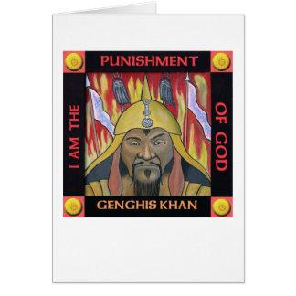 Genghis Khan card