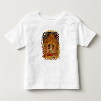 Genghis Khan in his tent by Rashid al-Din Toddler T-Shirt