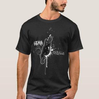 Genia y Caballo B&W T-Shirt