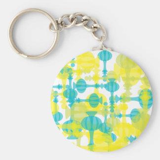 Genie Bottle Delightss Basic Round Button Key Ring