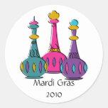 Genie Bottles 2010 Round Sticker