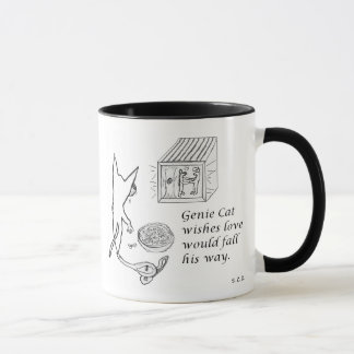 Genie Cat Coffee Mug