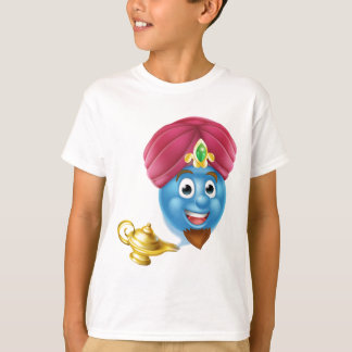 Genie Emoticon Emoji and Lamp T Shirts