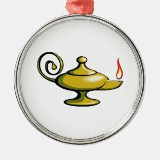 Genie Lamp Christmas Ornament