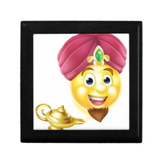 Genie Magic Lamp Emoji Small Square Gift Box