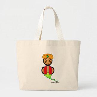 Genie (plain) tote bags