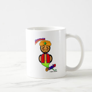 Genie (with logos) coffee mug