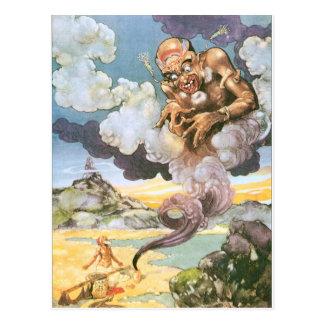 Genies Postcard