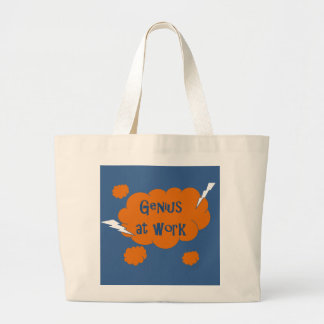 Genius at Work Tote Bag