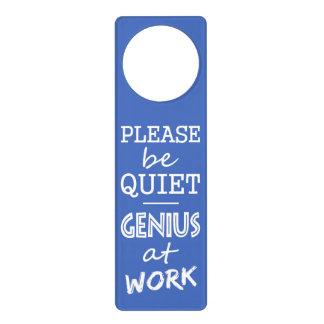 Genius at Work custom color door hanging Door Hanger