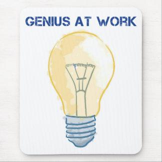 Genius At Work Mousepads