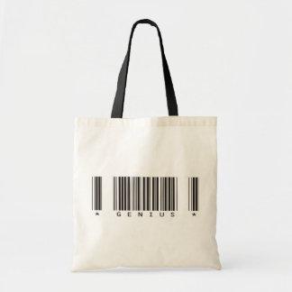 Genius Bar Code Tote Bags