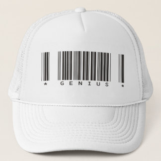 Genius Bar Code Trucker Hat