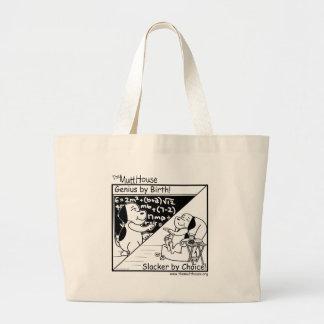 Genius By Birth Jumbo Tote Bag