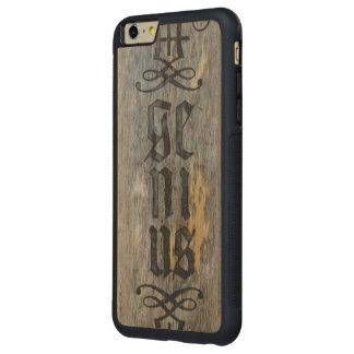 Genius Carved iPhone 6 Plus Case