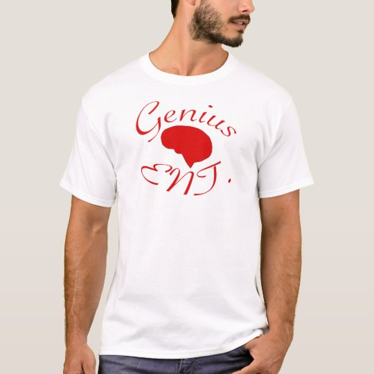 Genius Entertainment Red logo T-Shirt