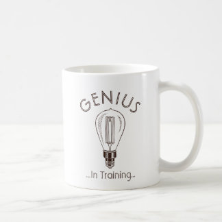 Genius In Training Antique Light Bulb Coffee Mug