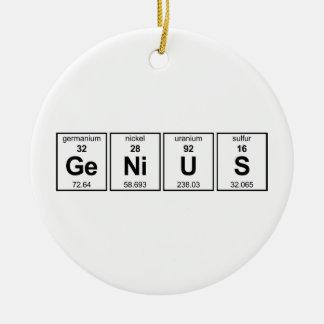 GeNiUS Ornament