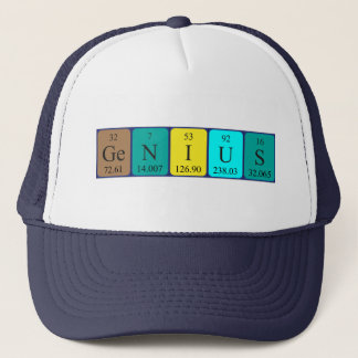 Genius periodic table name hat