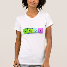 Periodic table Genius shirt