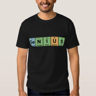 Genius - Periodic Table of Elements Products T Shirt