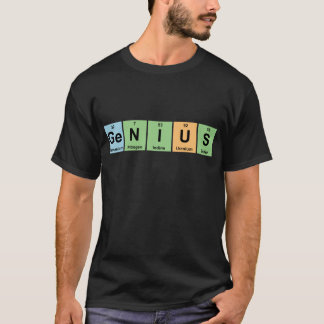Genius - Periodic Table of Elements Products T-Shirt