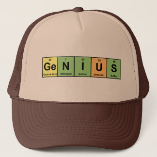 Genius - Periodic Table of Elements Products Trucker Hat