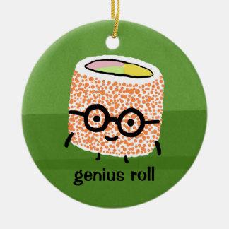 Genius Roll Christmas Ornament