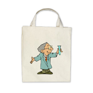 Genius Scientist Experiment Success Bag