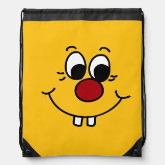 Genius Smiley Face Grumpey Rucksacks
