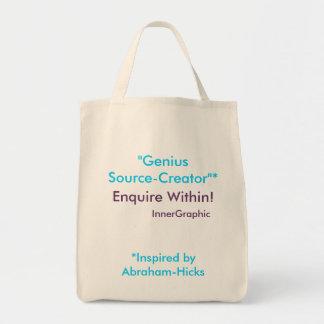 Genius Source-Creator Enquire Within! Bag